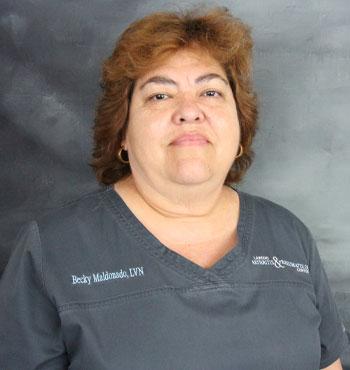 Becky Maldonado | Licensed Vocational Nurse