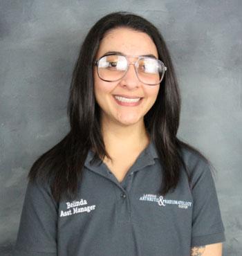 Belinda Sanchez | Assistant Office Manger